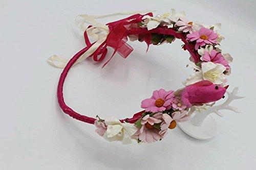 Miss America Pageant Halloween Costumes (Siam2u Flower crown hair, bridal crown, wedding headpiece, Rustic headpiece, bridal head piece)