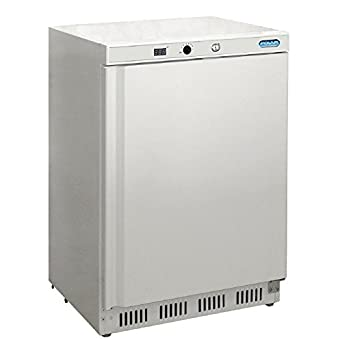 Polar Under Counter - Congelador comercial (140 L), color blanco ...