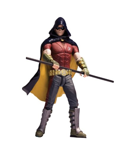 City Action Series - DC Direct Batman: Arkham City: Series 1: Robin Action Figure