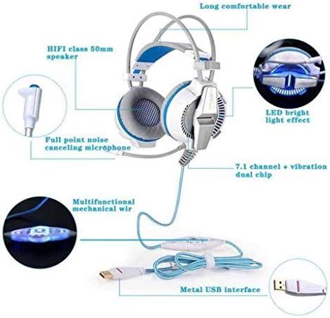 ZWH E-Sports Gaming Headset Clear Bass voor een tweede audiokabel