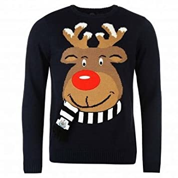 SANTA CHRISTMAS XMAS Football Adult Sweatshirt Jumper Personalised Gift2Any team