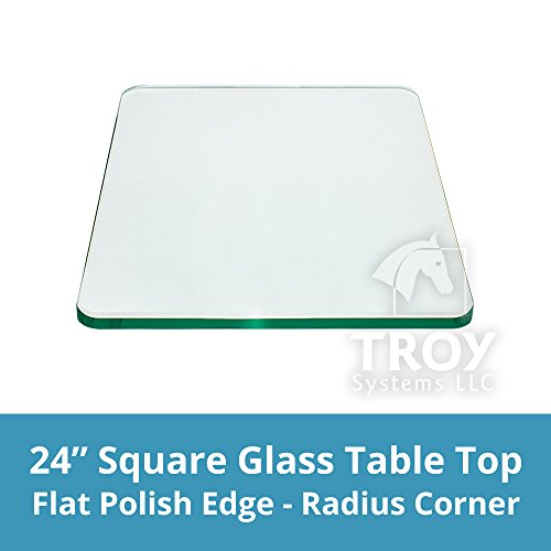 Square Polished Tempered Radius Corner