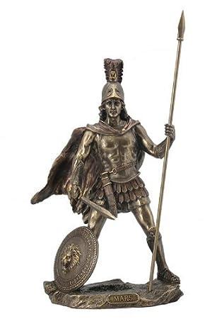 Amazon.com: Sale - Mars / Ares Statue Sculpture - Roman God of War ...