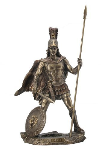 Mars / Ares Statue Sculpture - Roman God of War (Bronze) ()