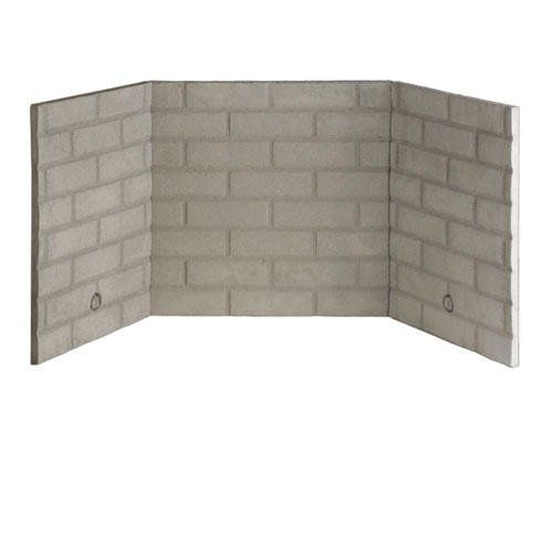 Refractory Brick Liner Kit for Direct Vent Gas Fireplace - 42