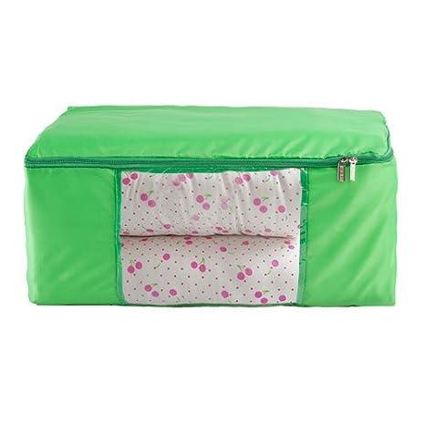 Unimango- Bolsa de almacenaje, impermeable y plegable, transparente, ideal para guardar edredones o colchas, ropa, juguetes, perfecto para ahorrar de ...