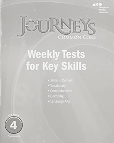 Amazon journeys common core weekly assessments grade 4 journeys common core weekly assessments grade 4 1st edition fandeluxe Image collections