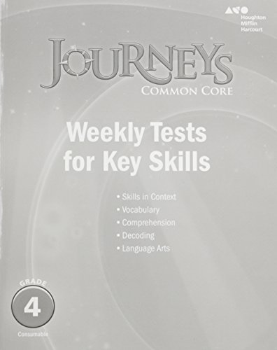 Journeys: Common Core Weekly Assessments Grade 4