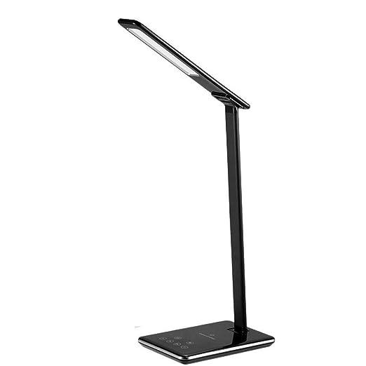 HIZLJJ Lámpara de escritorio LED Regulable Lámpara de mesa LED 4 ...