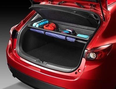 Mazda 3 2014 hatchback New OEM rear cargo self BJE3-V1-300 (Cargo Trunk Cover Mazda3 compare prices)