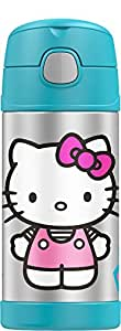 Thermos Funtainer 12 Ounce Bottle, Hello Kitty, Color may vary