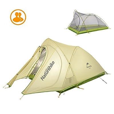 2personne ultraléger extérieur étanche Tente de randonnée de camping avec sac de transport