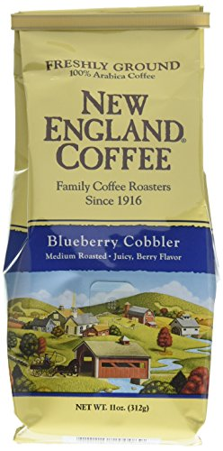 Berry Coffee - New England Coffee Blueberry Cobbler Coffee - 6 Pack 11oz.
