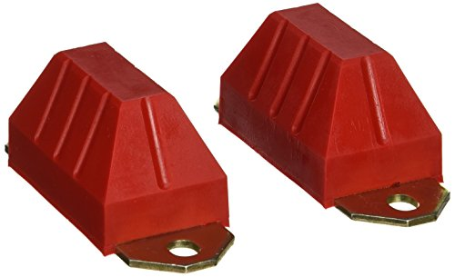 Prothane 1-1301 Red Axle Snubber Kit for CJ5, CJ7, CJ8 and YJ (Cj7 Jeep 1982 Axle)