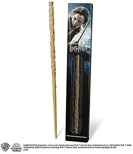 Bacchetta magica Harry Potter Hermione Granger con segnalibro 3D Noble