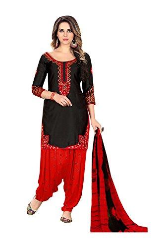 Aashima Fab Store Indian Women Designer Partywear Ethnic Traditonal Black Salwar - Free Shipping Clothing Replica Designer