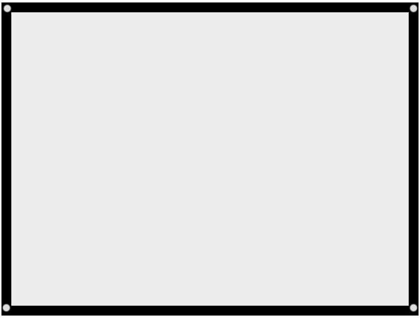 60-100 pouces 4 id/éal pour laffichage de conf/érence d/éducation de th/é/âtre /à la 3 /écran de projection vid/éo portable film /écran pliable AUCUN projecteur ext/érieur ext/érieur pli