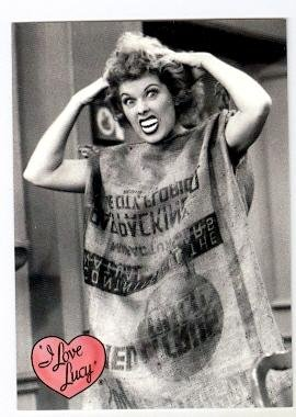 Lucille Ball trading card I Love Lucy 2001 Dart #39 TV - Lucille Autographs Ball