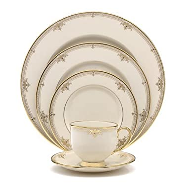 Lenox Republic Gold-Banded 5-Piece Place Setting, Service for 1