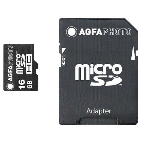 AgfaPhoto Mobile 16GB Micro Secure Digita SDHC Speicherkarte