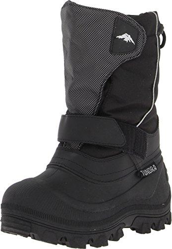 f17c7569919f5 Tundra Boots Kids Boy s Quebec Wide (Toddler Little Kid Big Kid) Black