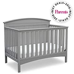 Perfect for traditional and modern nurseries alike, the Archer 4-in-1 Crib from Delta Children is remarkably versatile. You'll love the character it adds to your baby's space with its solid, gently arched headboard and airy slats. Designed to...