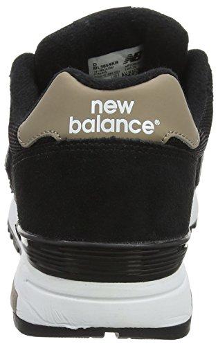Nye Balance Mænd M565 Klassiske Løbesko, Sort Sort (sort)