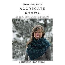 Aggregate Shawl : Guernsey style knitting pattern | accessory knitwear