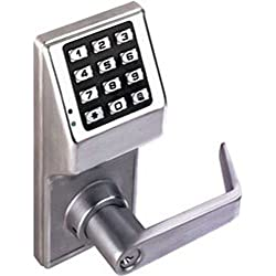 Alarm Lock Systems Inc. DL2800 US26D Trilogy Digital Lock Cylindrical Kil 26D, Satin Chrome