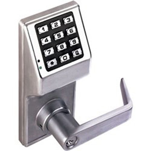 Alarm Lock Systems Inc. DL2800 US26D Trilogy Digital Lock Cylindrical Kil 26D, Satin Chrome by Alarm Lock