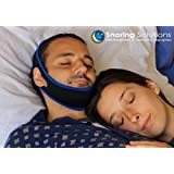 Snoring Solution - Best Snoring Aid - Premium Comfort - Stop Snoring Jaw Strap - Most Recommended by Doctors - Top Rated 2018 Snoring Solution! (OPEN MOUTH SNORERS ONLY)