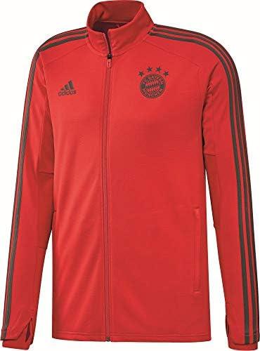 adidas Deutschland Trainingsjacke dunkelgrauweiß Fussball