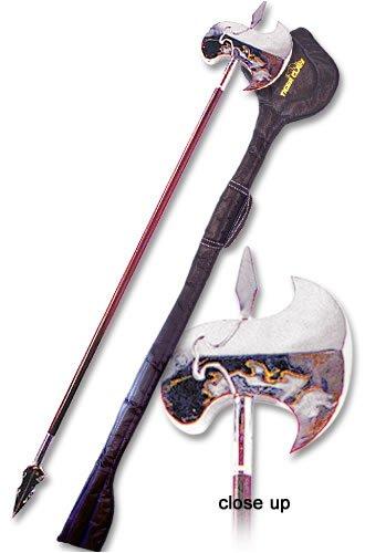 Tiger Claw Long Weapon - Wushu Long Stick Axe