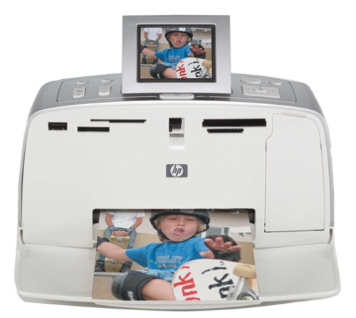 HP PhotoSmart 375 Compact Photo Printer by HP