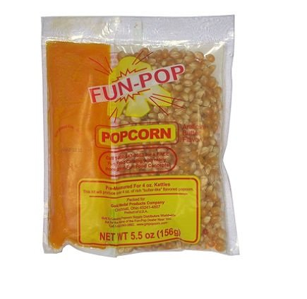 Gold Medal Fun-pop Popcorn Kit (4 oz. bag, 36 pk.) - (Popcorn Kernels & Flavorings)