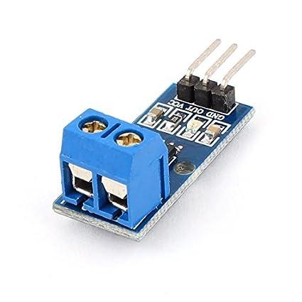 Amazon.com: eDealMax Módulo de Chip ACS712-05B 5A Rango del Sensor de corriente Para Arduino: Electronics