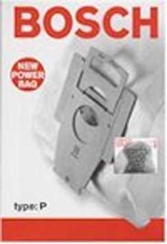 Amazon.com: Bosch Tipo P – Bolsas aspiradora filtro de ...