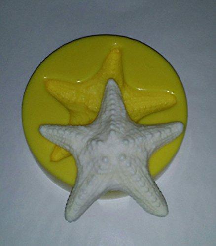 Large Starfish Candle & Soap Mold FlexibleMolds