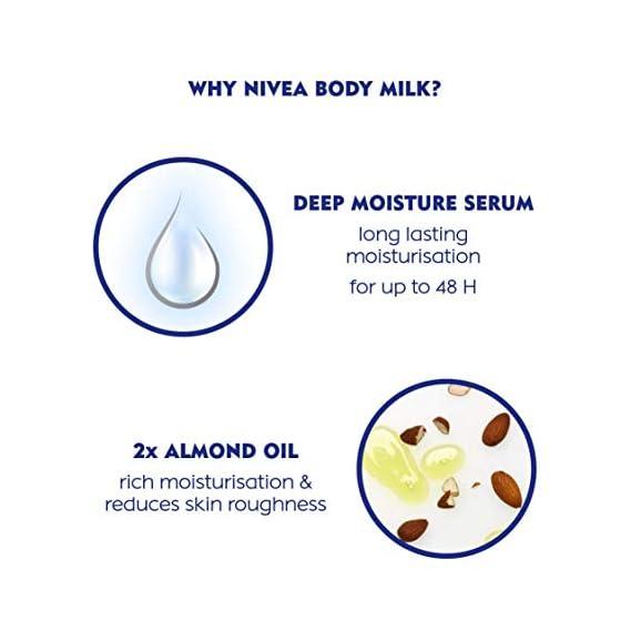 NIVEA Body Lotion, Nourishing Body Milk, For Very Dry Skin, 600ml