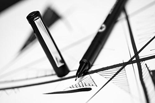 Molotow Blackliner Pen Complete Set, 11 Pens, 1 Set Each (200.485) by Molotow (Image #6)