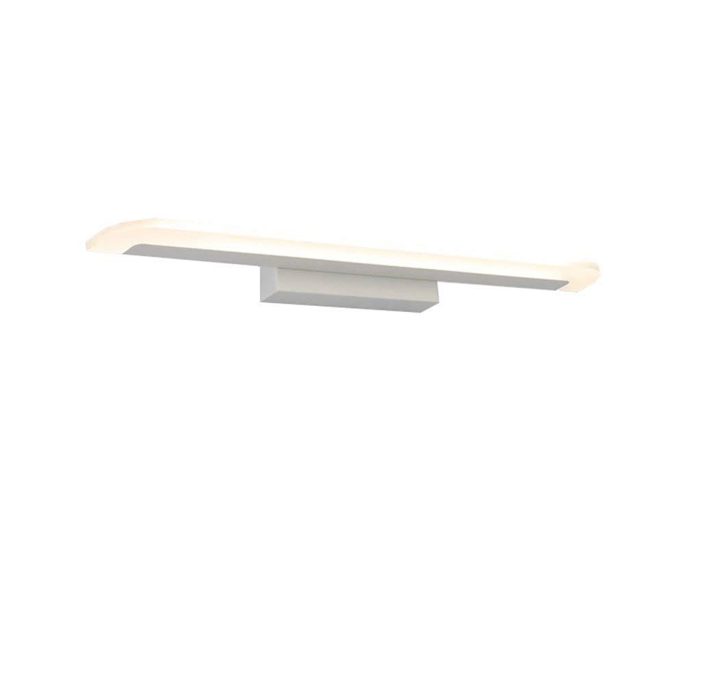 Shangxiangtrade ヨーロッパ式の湿気および錆の浴室の洗面所LEDミラーの前部ライト現代簡単な化粧台の化粧鏡のキャビネットライトヨーロッパ式およびアメリカ式の壁ランプ省エネランプ (Color : Warm light, サイズ : 40CM8W) 40CM8W Warm light B07QN7CQ1V