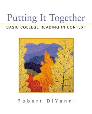 Putting It Together: Basic College Reading in Context