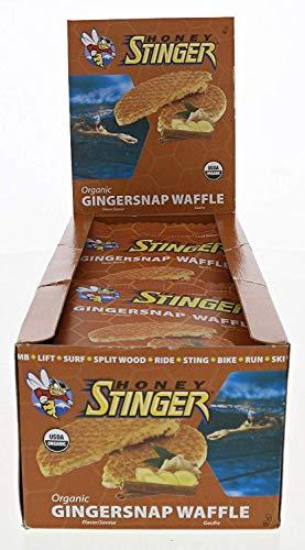 Honey Stinger Stinger Waffle Gingersnap 16 - 1 oz Waffles