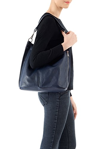 Tote Montte Luxury Bag Shoulder Di Leather for Gift Jinne Black Body Women 100 Cross Italian Large Real r8ArqPR7