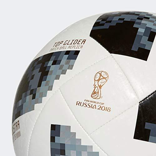 3ee2aee170a4e Bola de Futebol de Campo Telstar 18 Oficial Copa do Mundo FIFA 2018 - Adidas   Amazon.com.br  Esportes e Aventura