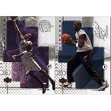 Upper Deck 2001/2002 Ovation Basketball Complete Mint Basic Set 90 Card Set with Michael Jordan+ - Michael Jordan Set