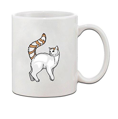 (Turkish Van Cat Ceramic Coffee Tea Mug Cup 11 Oz)