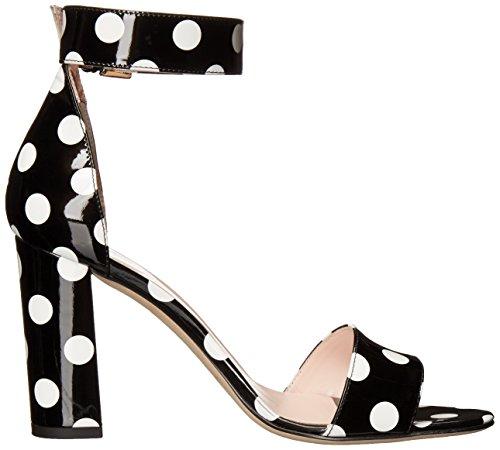 original online clearance online cheap real Kate Spade New York Women's Idabelle Too Dress Sandal Black/White 2015 for sale JyiyHfz