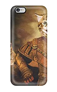 Shirley P. Penley's Shop Cheap N8CRE0WJRGEJB8FL Cat Knight Fashion Tpu 6 Plus Case Cover For Iphone