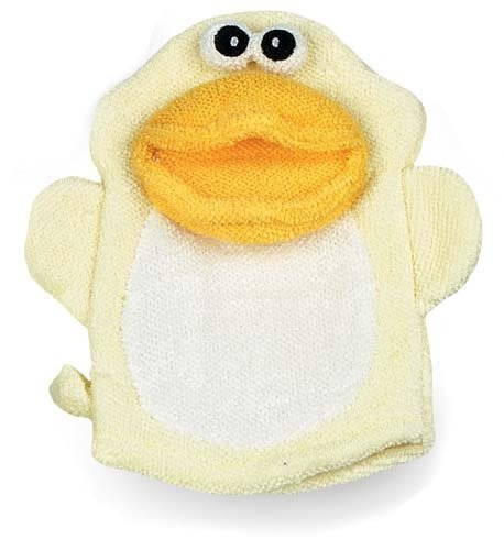 (RELAXUS Cotton Bath Mitt Duck, 1)